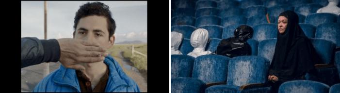 台北電影節選映佳片:左:《失落園》、右:《重返悲劇現場》。