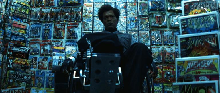 奈沙馬蘭驚悚超級英雄電影宇宙中,由山繆傑克森飾演的伊萊亞。