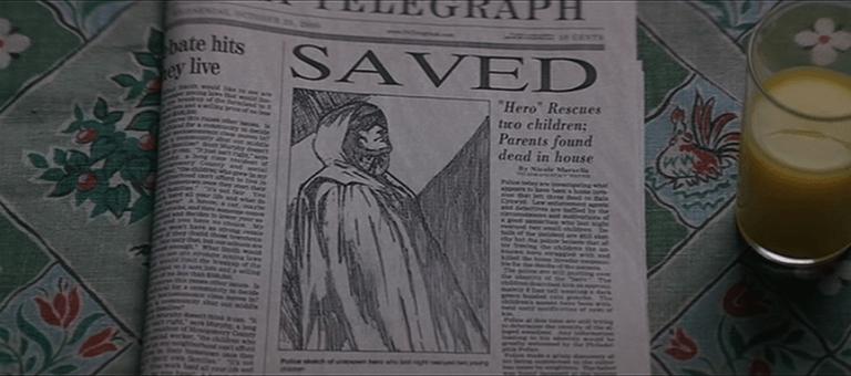 《驚心動魄》電影中的第一個結局點......默默的帶出某人的「不平凡」。