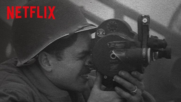 史蒂芬史匹柏 2017 年與網飛 Netflix 曾合作推出的《五人歸來:好萊塢與第二次世界大戰》。