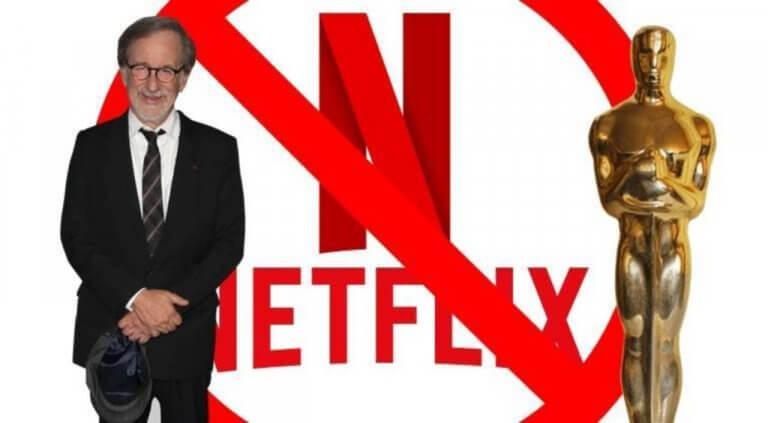 好萊塢大導演史蒂芬史匹柏與串流影音大平台網飛 Netflix 的奧斯卡之爭,越演越烈。