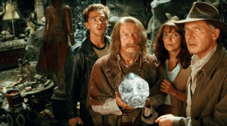 《印第安納瓊斯:水晶骷髏王國》劇照。