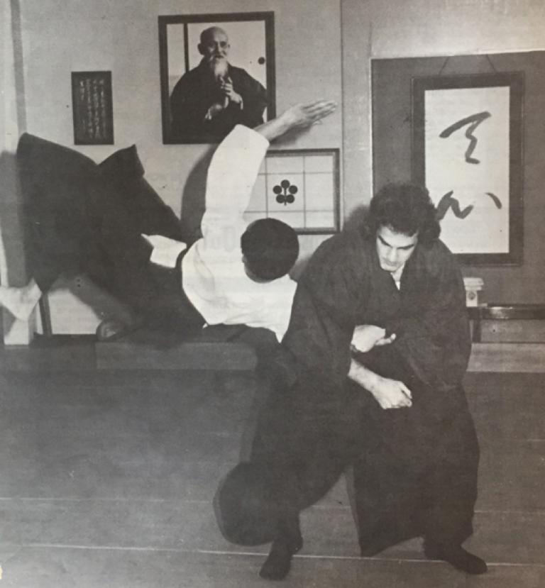 在日本道館的史蒂芬席格