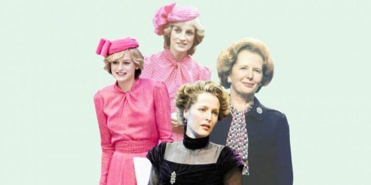 吉蓮安德森於影集《王冠》飾演前英國總理瑪格麗特柴契爾夫人,獲 2021 金球獎電視劇、連續短劇與電視電影最佳女配角獎