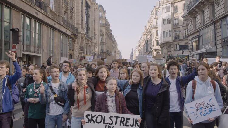 吶喊「蠔爹油」為氣候罷課的《環保少女:格蕾塔》紀錄片上映