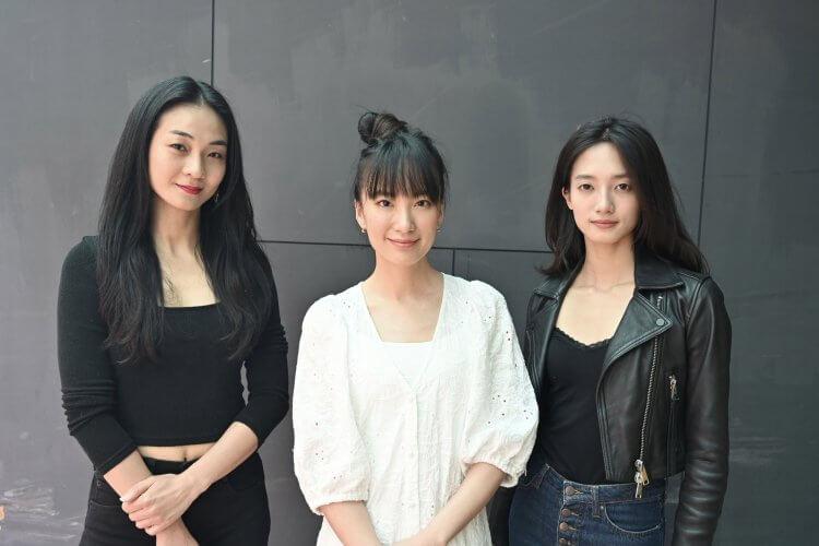 《喰之女》主演陳雪甄、韓寧,以及劉黛瑩。