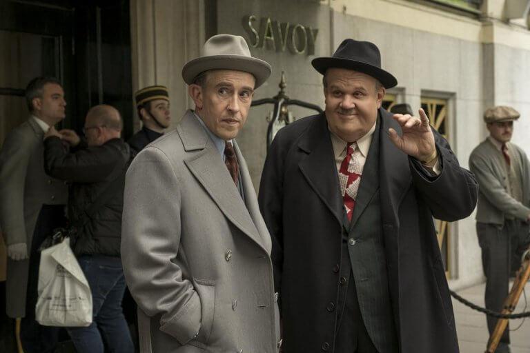 《喜劇天團_勞萊與哈台》分別由史帝夫庫根 (Steve Coogan) 飾演「勞萊」,約翰萊利 (John C. Reilly) 飾演「哈台」。