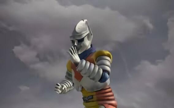 東寶特攝電影系列中唯一一位人型的機械英雄「噴射傑格」。