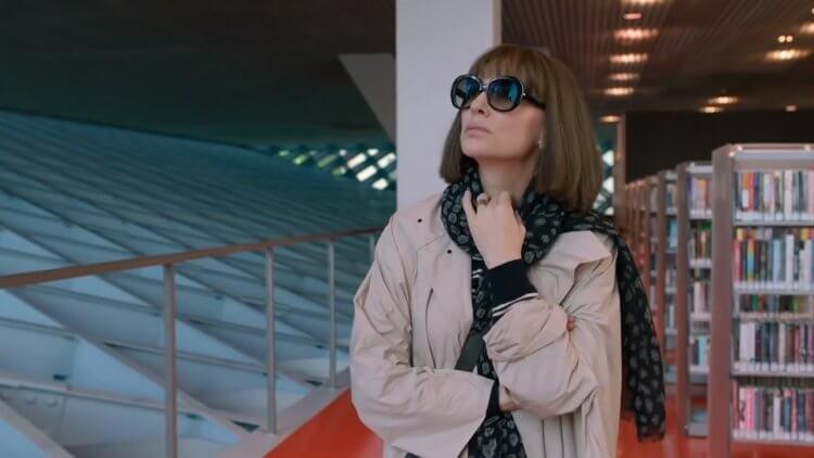 凱特布蘭琪在《囧媽的極地任務》片中飾演擁有輝煌過往卻在婚後安穩生活感到不安的囧媽,踏上尋找自我的旅程。
