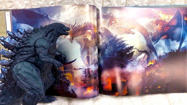 開啟怪獸宇宙,接續迎擊金剛!萬眾矚目《哥吉拉 II:怪獸之王》電影美術設定集繁體中文版在台震撼上市首圖