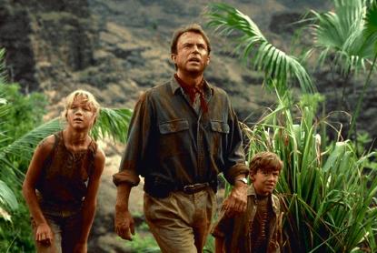 以電影《侏羅紀公園》作為最知名代表作的演員山姆尼爾。