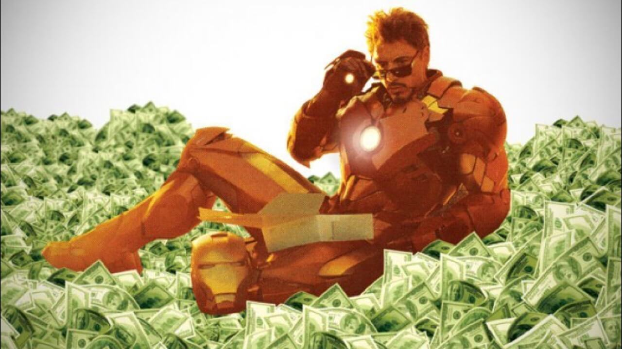 從《鋼鐵人》到《復仇者聯盟4:終局之戰》,東尼史塔克到底為小勞勃道尼賺了多少錢?(上)首圖