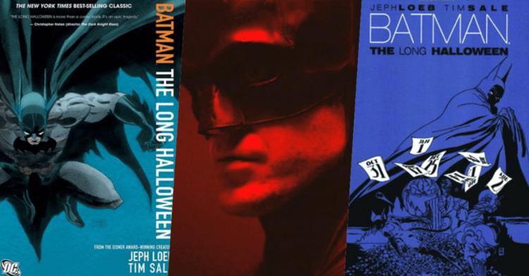 我們覺得麥特李維斯編導,年輕蝙蝠俠與高譚市眾反派鬥智鬥勇的《蝙蝠俠》,很可能改編自漫畫《漫長萬聖節》首圖
