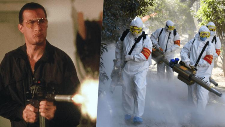 【電影背後】這就是偉大的動作天王史蒂芬席格 (20):武漢肺炎不夠看,《火線戰將》席格對決消滅全美國的恐怖病毒!首圖