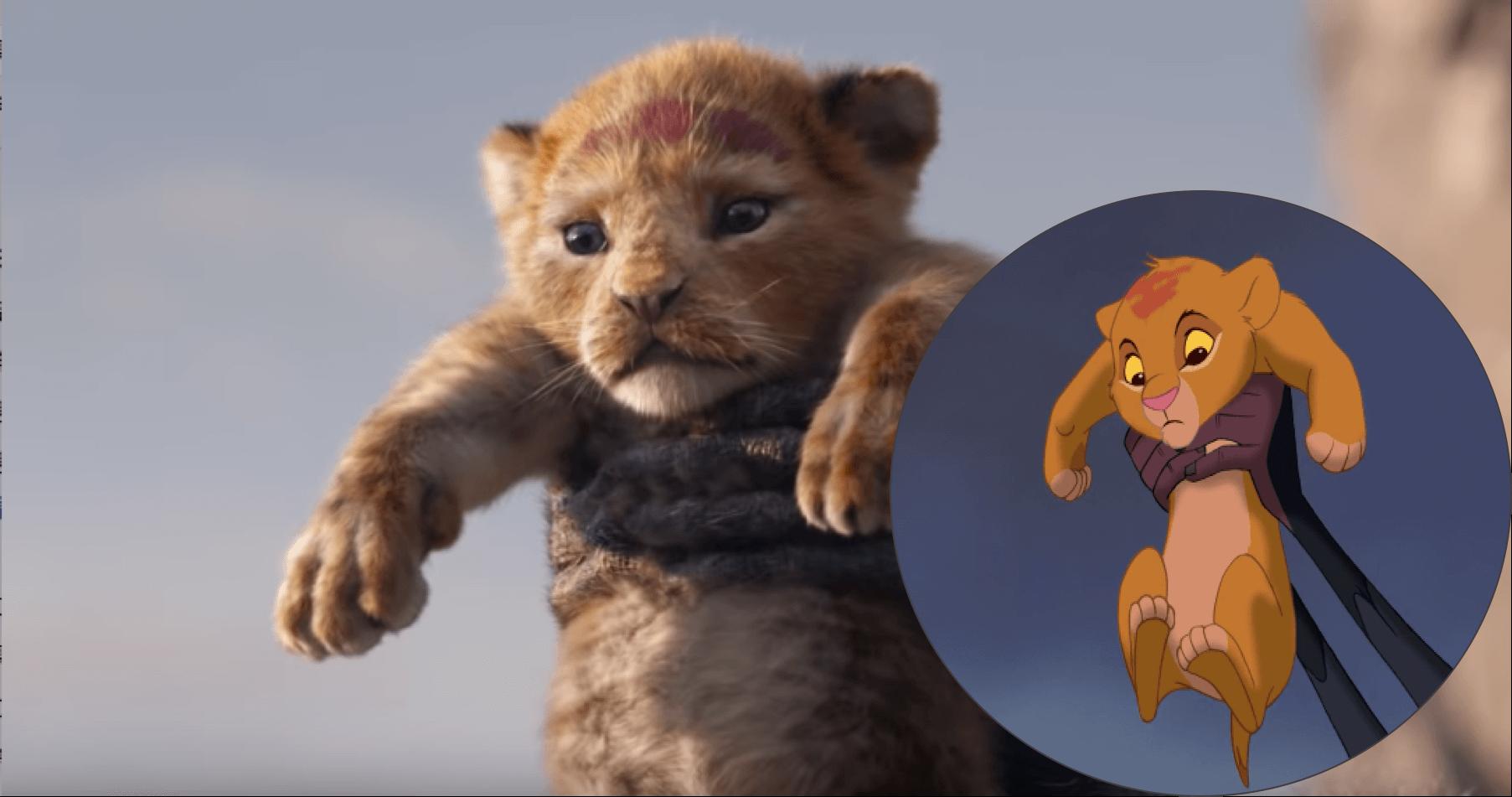 重新推出的「真人版」《獅子王》,但畢竟也不是找來真正的獅子演出......