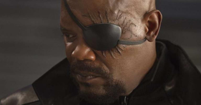 慢威電影宇宙裡最強大的配角:神盾局局長尼克福瑞(Nick Fury,由「MDFK」山繆傑克森飾演。)