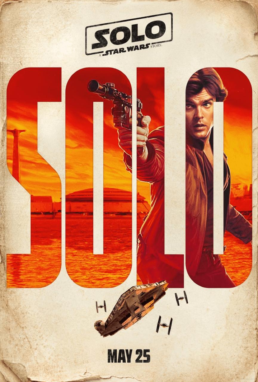 《 星際大戰外傳 : 韓索羅 》電影海報