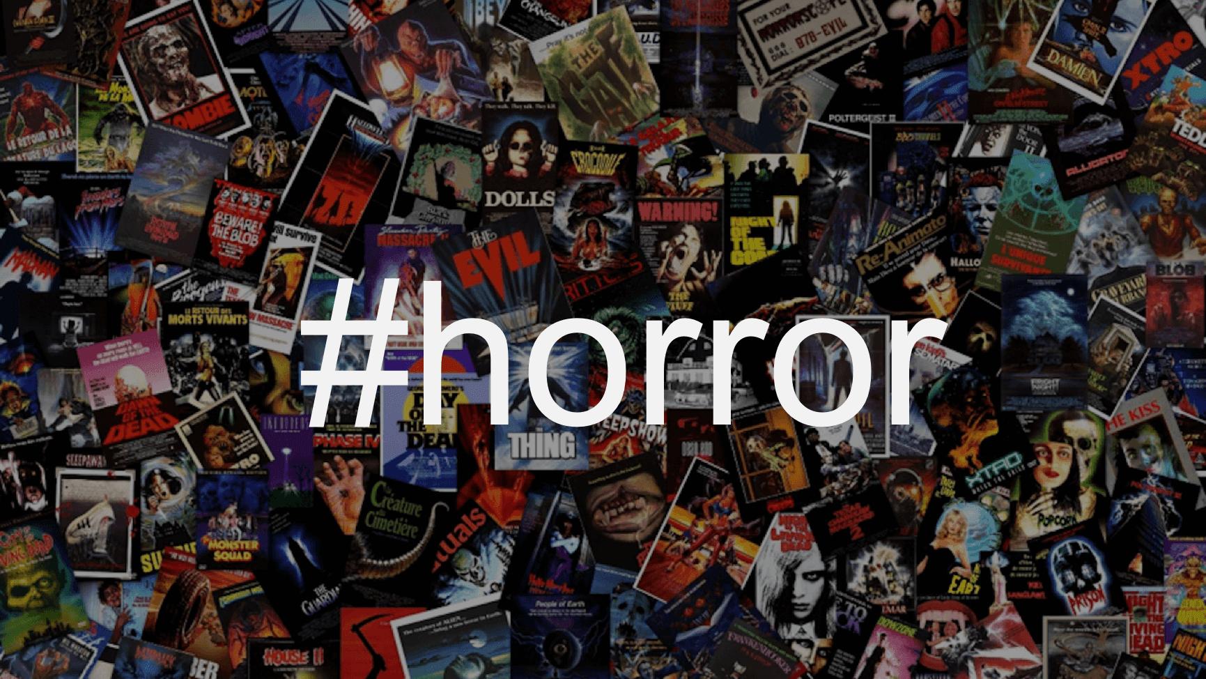 恐怖電影迷注意了,在IG上點選一個小小的 #Horror 主題標籤,整個社群平台會跑來關心你首圖