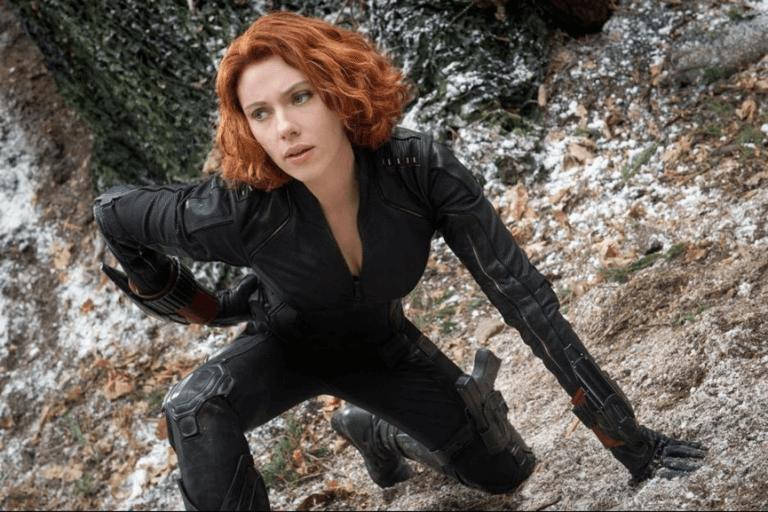 史嘉蕾喬韓森於漫威《復仇者聯盟》電影系列中飾演的美艷特務:黑寡婦。