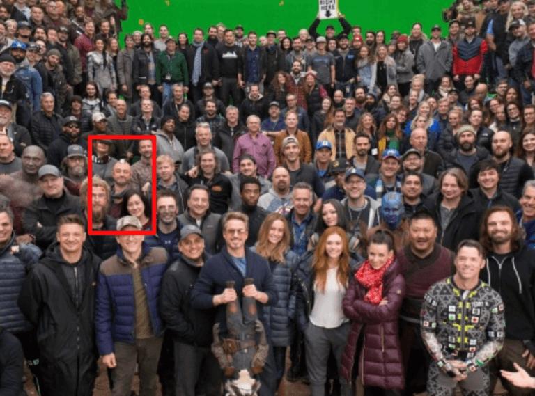 《復仇者聯盟4:終局之戰》(Avengers: Endgame) 演職員大合照。