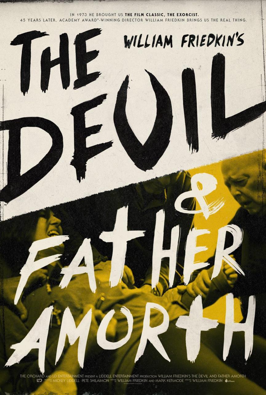 惡魔與阿摩特神父 電影海報