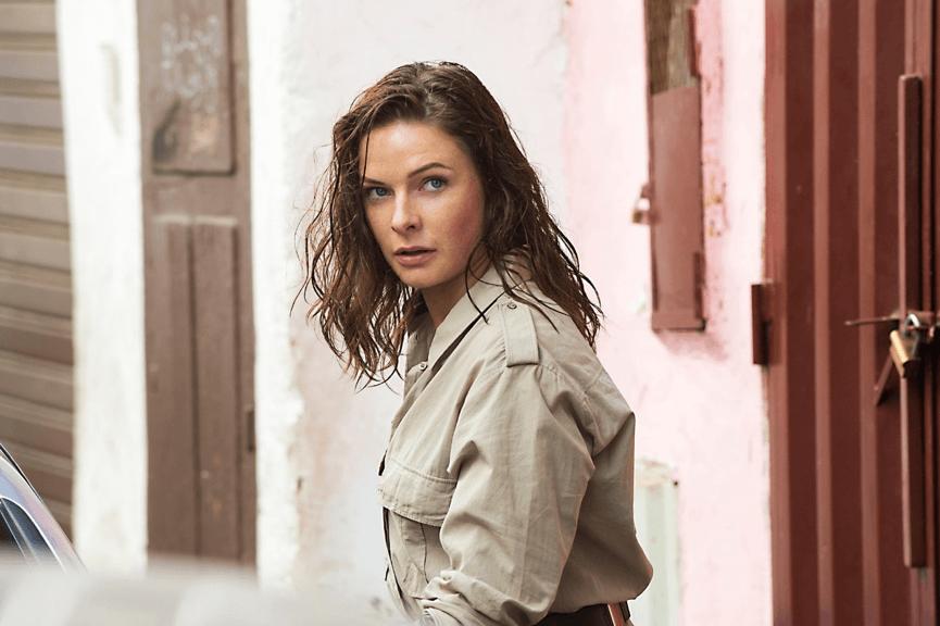 躋身 不可能的任務 女主角 之一的 : 蕾貝卡弗格森 。