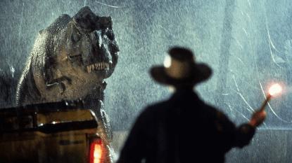 山姆尼爾在電影《侏羅紀公園》飾演亞倫一角。