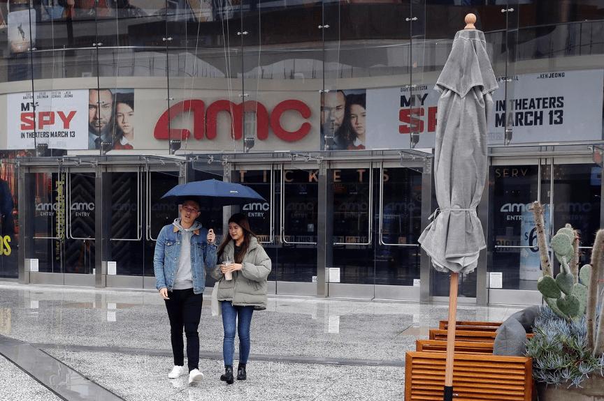 美國 AMC 連鎖影院。