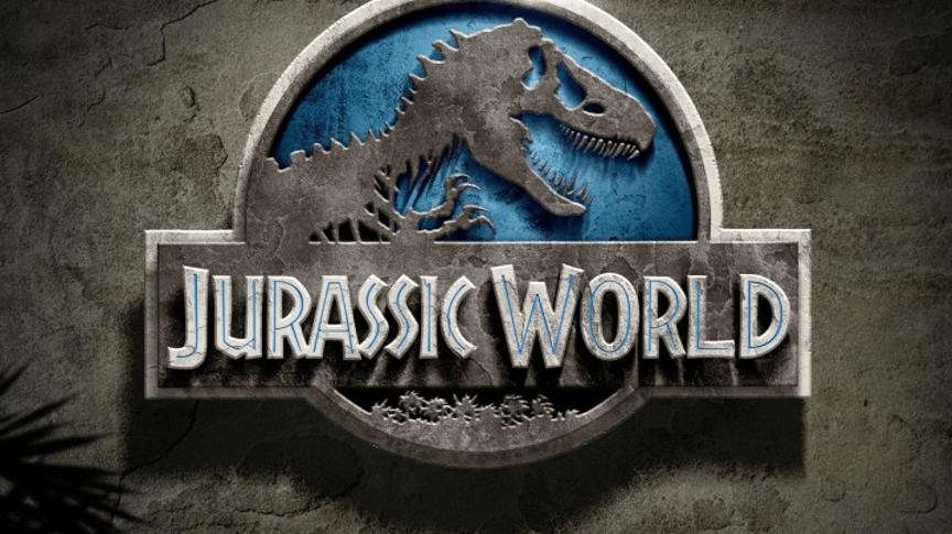 《侏羅紀世界》電影 Logo。
