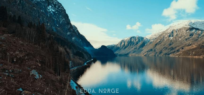 Netflix 影集《諸神黃昏》埃達的美景。