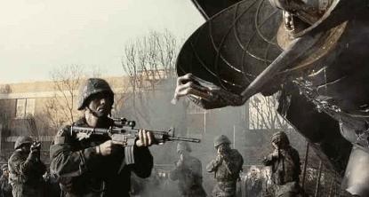 《世界大戰》劇照。