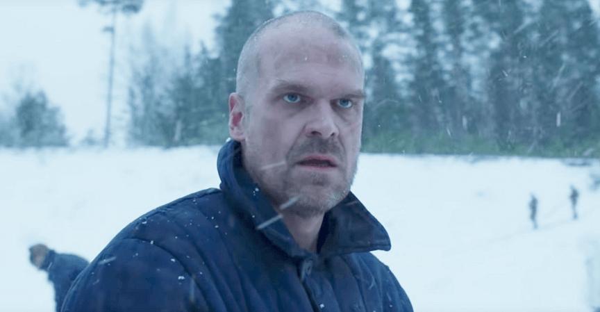 Netflix 影集《怪奇物語》第四季劇照。