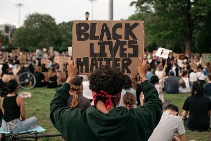 「Black Lives Matter」抗爭活動。