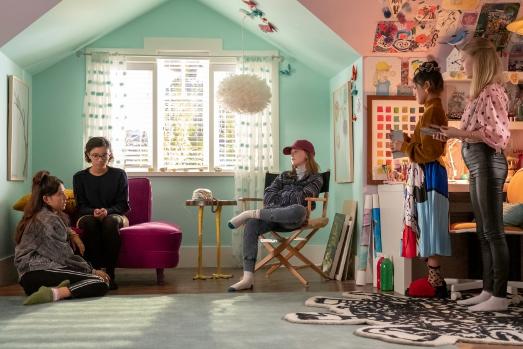 同名暢銷小說改編,青春影集《保姆俱樂部》上架 Netflix。