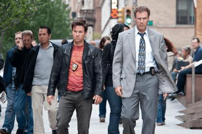 馬克華伯格、威爾法洛主演,亞當麥凱導演的喜劇電影《B 咖戰警》劇照。