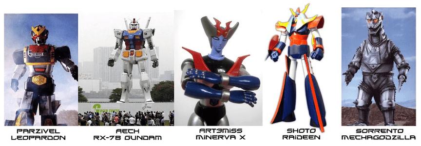 一級玩家 小說中出現的那些機器人