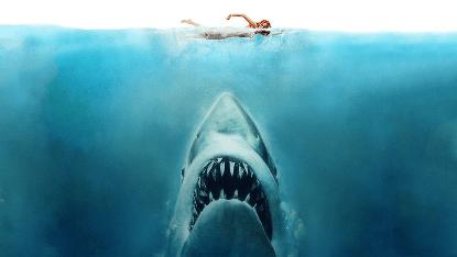 《大白鯊》。