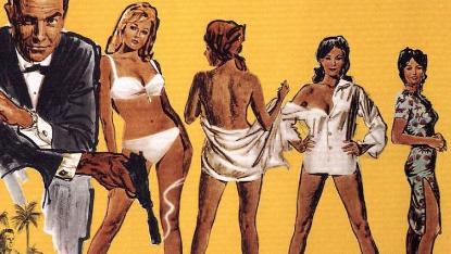 007 電影中的龐德女郎。