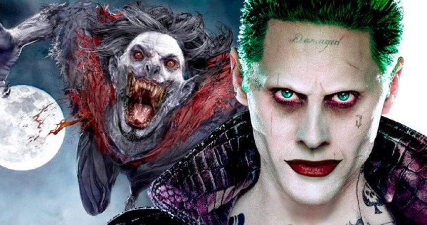 《自殺突擊隊》 小丑 傑瑞德雷托 (Jared Leto) 將主演索尼最新蜘蛛人外傳電影中的 活吸血鬼 莫比亞斯 (Morbius the Living Vampire)。