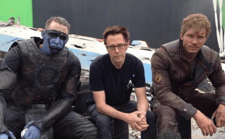 《星際異攻隊》導演和演員們。