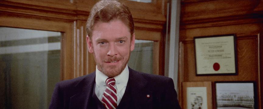 威廉亞瑟頓演出電影《魔鬼剋星》。