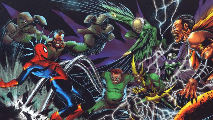 《蜘蛛人》漫畫裡的「反派聯盟」罪惡六人組,電影片商一直想鋪陳讓他們出現在蜘蛛人系列電影中。