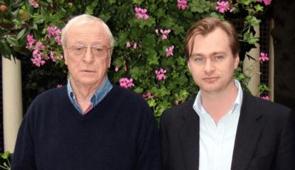 曾合作網譽「燒腦神片」的電影《全面啟動》的米高肯恩與克里斯多福諾蘭。