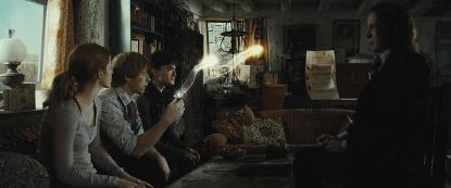 《哈利波特》劇照。