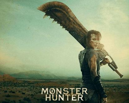 蜜拉喬娃維琪主演電玩遊戲改編電影《魔物獵人》劇照。