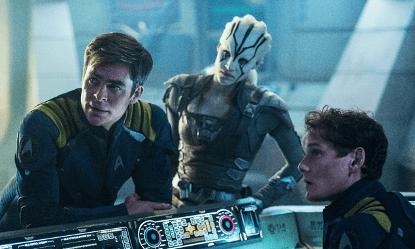《星際爭霸戰:浩瀚無垠》劇照。