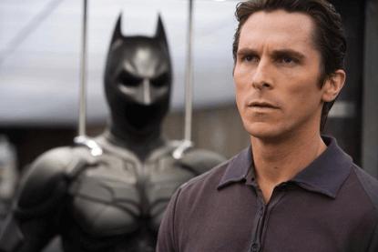 曾於諾蘭導演《黑暗騎士》三部曲電影飾演蝙蝠俠的克里斯汀貝爾。