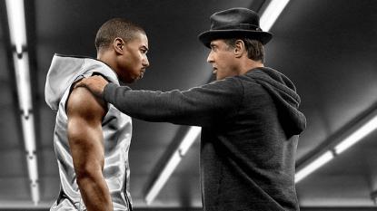 與席維斯史特龍於《金牌拳手》系列電影共演的麥可 B 喬丹。