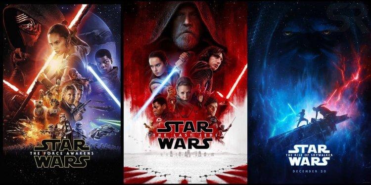 《星際大戰》7、8、9。