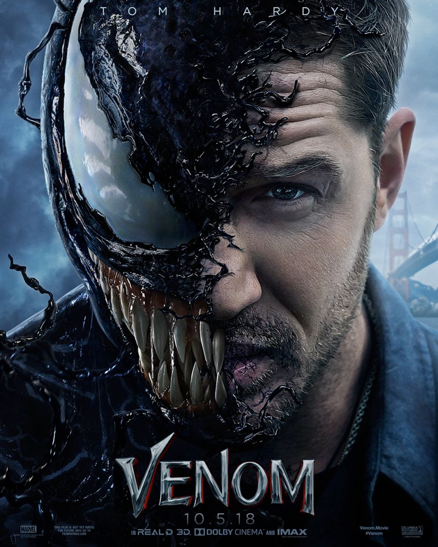 蜘蛛宇宙 : 蜘蛛人外傳電影《 猛毒 》即將上映──